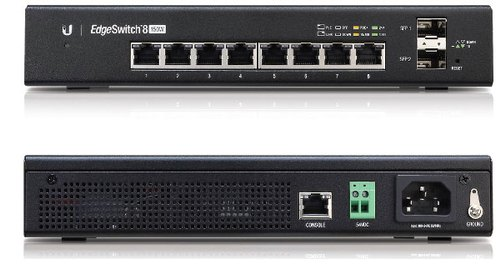 Ubiquiti - Ubiquiti EdgeSwitch 8-Port Managed PoE Gigabit