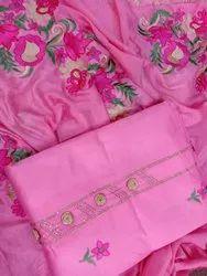 Slub Cotton Dress Material