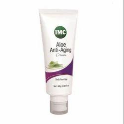 Male Herbal Base IMC Aloe Anti Aging Cream, Tube