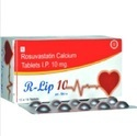 Rosuvastatin Calcium Tablet, Packaging Size: 10x10