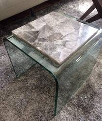 Smoky Quartz Table