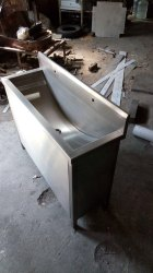 St. Steel Hand Wash Sink