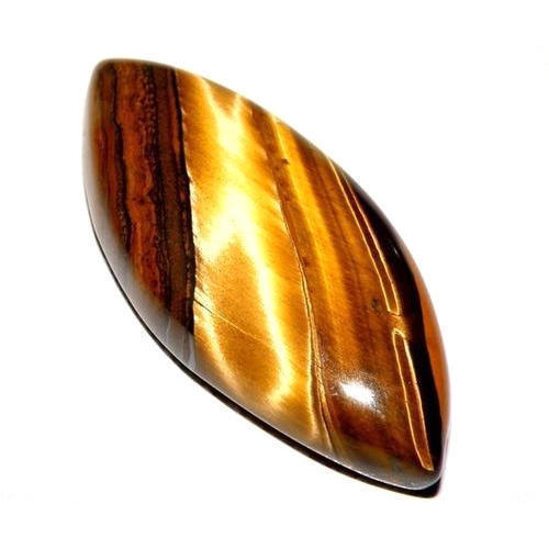 close stone gem mineral gemstone white natural background on isolated tiger eye photo tigers brown up