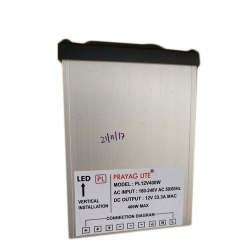 led power supply 500x500 aluminium single phase rainproof power supply, rs 1100 piece id