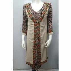 Jacket Style Kurta - Kalamkari
