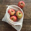 Reusable Produce Eco Friendly Sustainable Veggie Bags Cotton Produce Bag