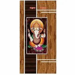 6-8 Feet Wood Laminated Door, Features: Waterproof