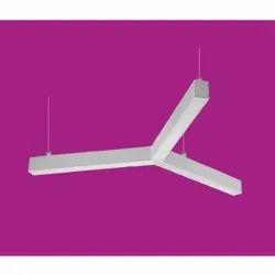 Ceramic Cool White Trio LED Linear Light/Office Light/Work Station Light, B22, Voltage: 90-110V