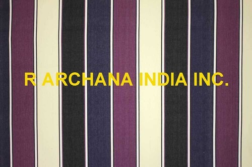 Striped Cotton Woven Fabric, Apparel Fabrics & Dress Materials | R