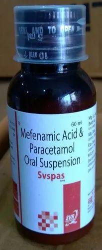 Paracetamol Mefenamic Acid Suspension