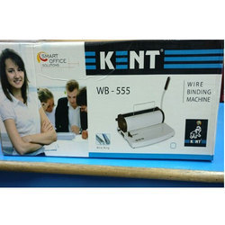 Semi Automatic Kent Wire Binding Machine, Model Name/Number: WB-555