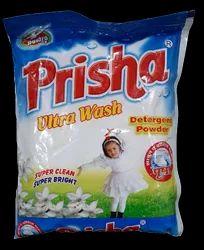 White FLORAL Washing Powder Prisha ultra, For Laundry