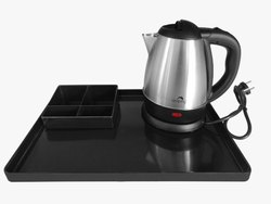 Electric Kettle With Amenity Tray