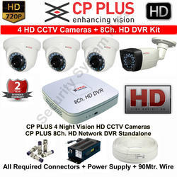 Analog Camera CMOS CP Plus Camera Kit, for Indoor Use