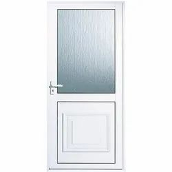 UPVC Single Glass Door