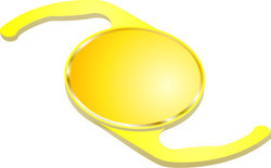 Hydrophilic Aspheric Foldable Naturalyellow Intraocular lens