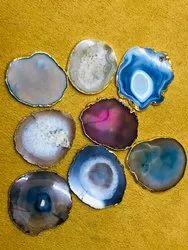 Colored Agate Coaster