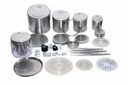 lucky Stainless Steel seives for diamond, For Industrial, Model Name/Number: Id Type 80 Mm