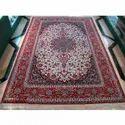 Maroon Handmade Cotton Carpet