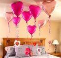 heart shaped foil balloons