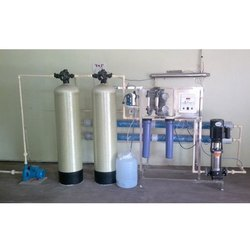 SS Powder coating Reverse Osmosis Water Treatment Plant, Number of Membranes in RO: 2, Ultra Filtration Plant