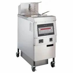 Gas Fryer With Oil Filter