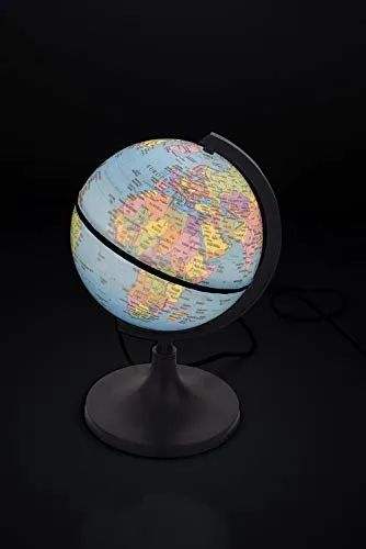 LED illuminated World Globe