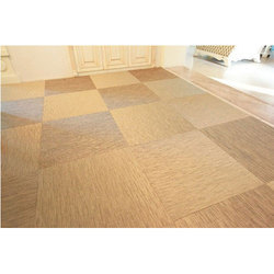 Multicolor Woven Vinyl Flooring, For Residence And Commercial, Thickness: 2.8 Mm