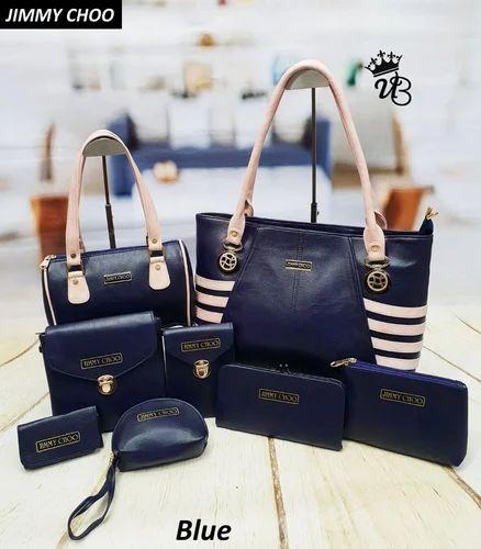 95590bf3032 Jimmy Choo 8 Piece Combo Handbag, डिज़ाइनर हैंडबैग ...