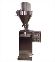 Industrial Semi Automatic Auger Powder Filling Machine