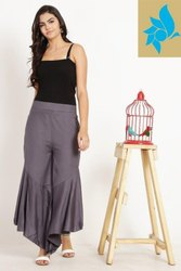 Rayon Palazzo Pants For Ladies