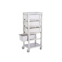 Stainless Steel GN Pan Trolley