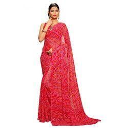 Female Bandhani Saree