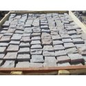 Outdoor Stone Grey Sandstone Cobbles, For Landscaping, Pavement