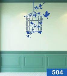 Bird Wall Stencil
