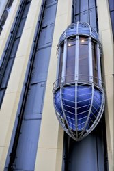 Capsule Elevators for Shopping Malls