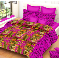 Golden Moment Double Bed Sheet