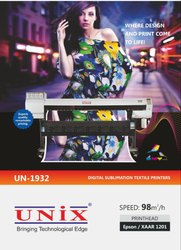 UN-5193-WITH 5113 HEAD 3 Head Digital Sublimation Textile Printer
