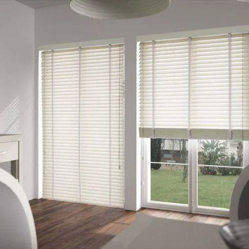 Pvc Vertical White Window Blinds