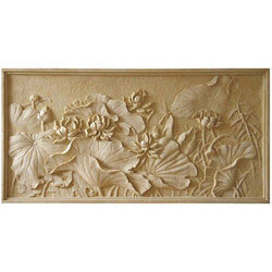 Flower Carving Stone Cladding