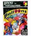9 Metallic GB Sports Jinni Round Party Balloon Latex