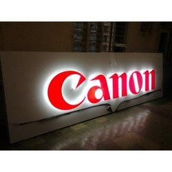 Acrylic Canon LED Letters