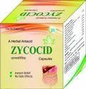 Zoic Brand Herbal Antacid Cap, Packaging Type: Box, Packaging Size: 10/10 Capsules