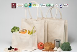 Natural Recycle Organic Cotton Reusable Bag