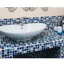 Kitchen Crystal Glass Mosaic Tiles