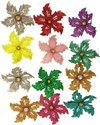 Decoration Craft Glitter Flowers