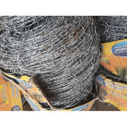 Iron Silver GI Barbed Wire