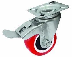 Wheel Castor With Brake