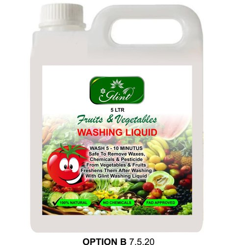 Glint Fruit And Vegetable Washing Liquid