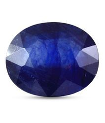 Oval Lab Certified 7.25 Ratti Blue Sapphire Of Bangkok AAA Quality
